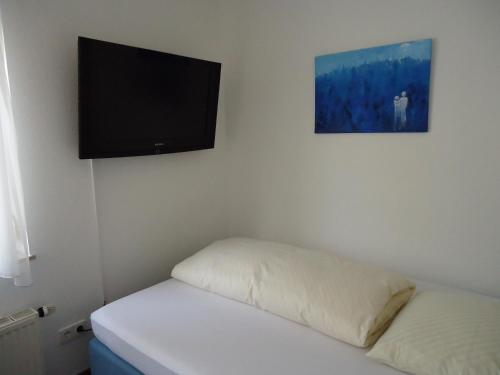 A television and/or entertainment center at Hotel Berg