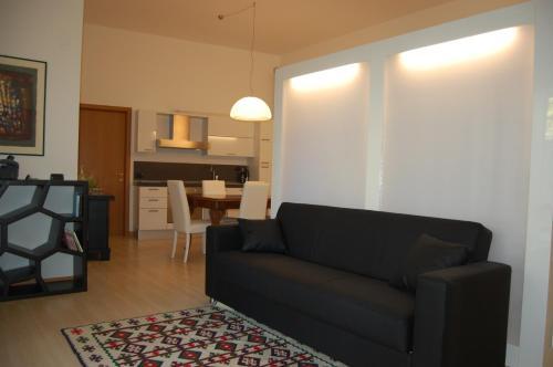 A seating area at Casa Camozzi