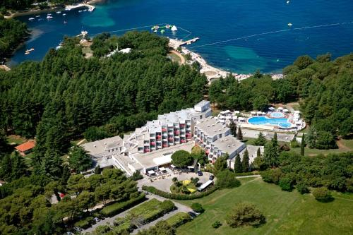 A bird's-eye view of Rubin Sunny Hotel by Valamar