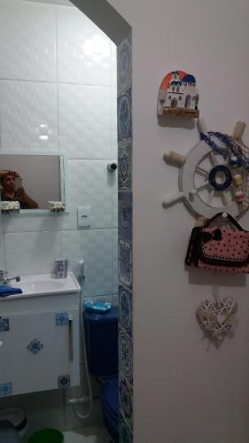 A bathroom at Radiosa Apartment