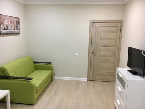 Гостиная зона в Апартаменты на Ленина 130
