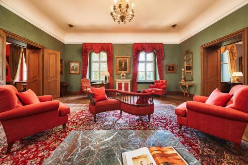 Posedenie v ubytovaní Hotel Chateau Béla