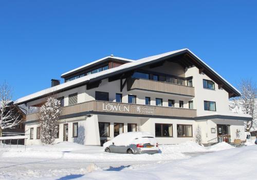 Gasthof Pension Löwen im Winter