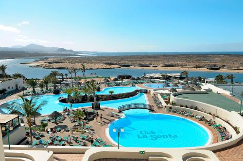 A view of the pool at Club la Santa All sports inclusive or nearby