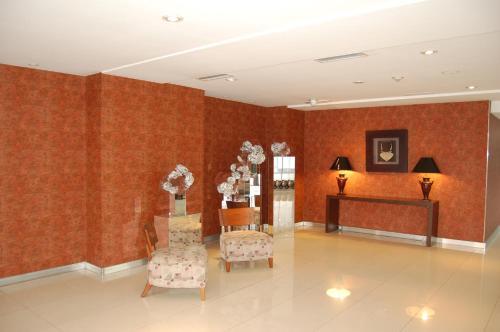 The lobby or reception area at Hotel de la Cité