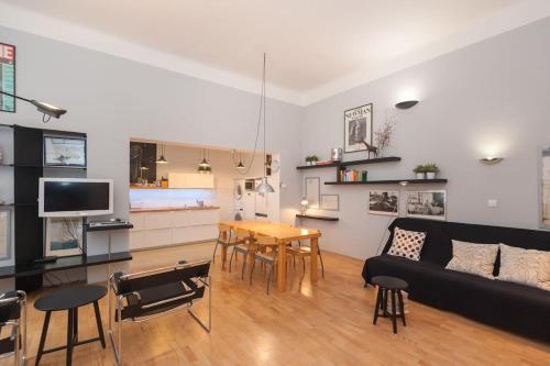 Area soggiorno di E&V's design place