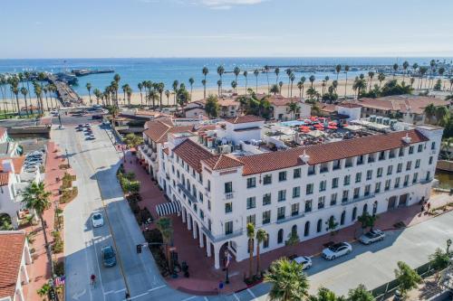 A bird's-eye view of Hotel Californian