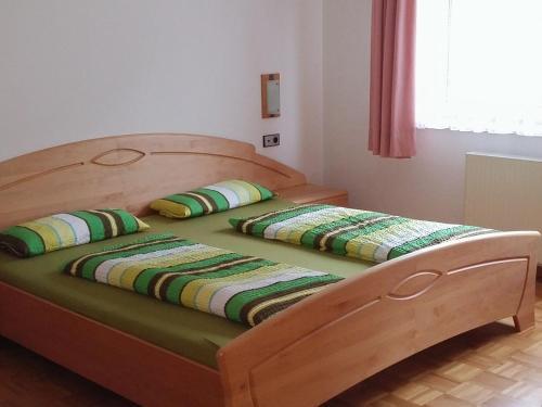 Ein Bett oder Betten in einem Zimmer der Unterkunft Haus Obertal