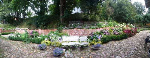 Ogród w obiekcie Lawendowy Zakątek