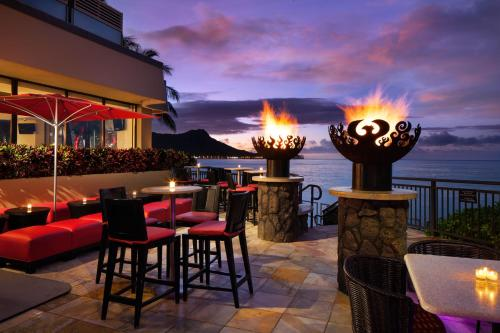 A restaurant or other place to eat at Sheraton Waikiki