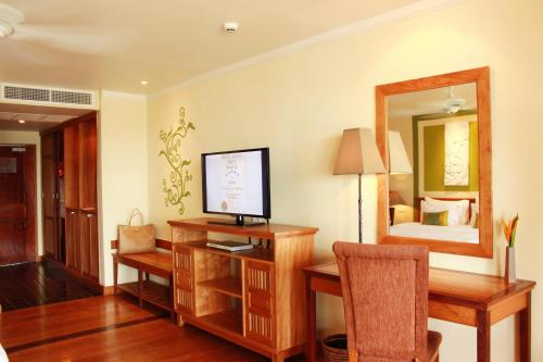 A television and/or entertainment center at The Emerald Cove Koh Chang