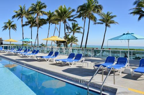 The swimming pool at or near Seacoast Suites on Miami Beach