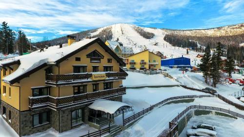 Апарт-отель Губернский зимой