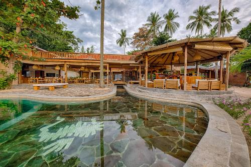 The swimming pool at or near Kuda Laut Boutique Dive Resort