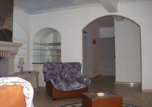 A seating area at D. Carlos Residencial