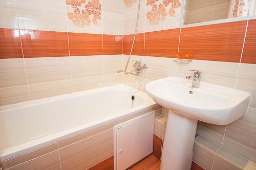 Ванная комната в Квартира около Аэропорта