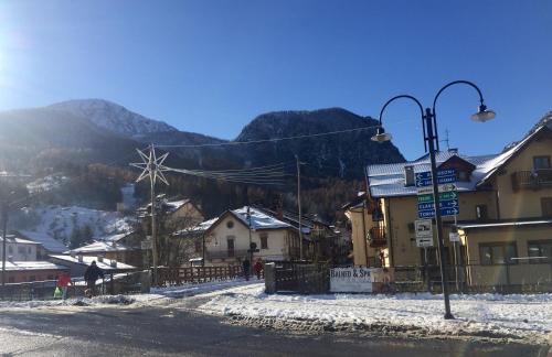 Appartamento montagna durante l'inverno