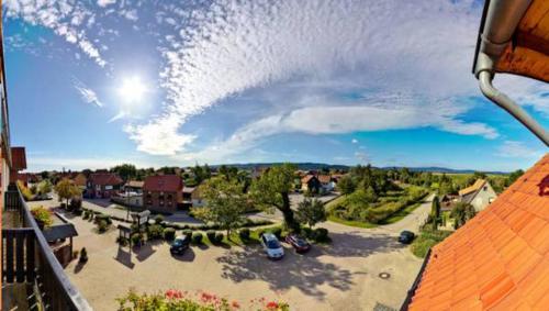 Blick auf Hotel Blocksberg aus der Vogelperspektive