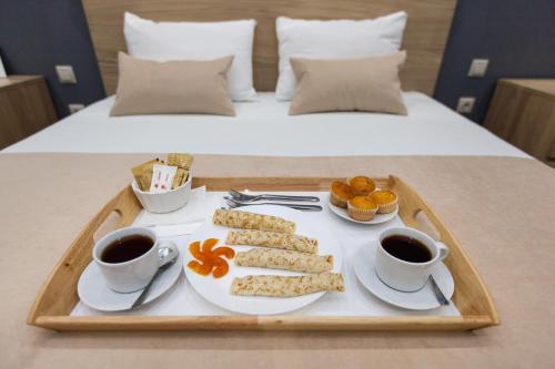 Завтрак для гостей Гостиница Брусника на Хорошевском