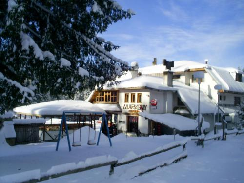 Family Hotel Markony during the winter
