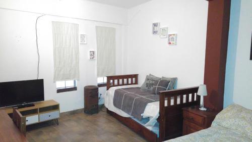 A seating area at Apartment Maipu II