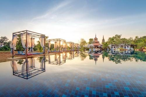 The swimming pool at or near Sriwilai Sukhothai