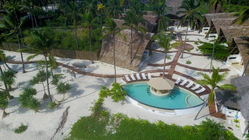 A view of the pool at Baladin Zanzibar Beach Hotel or nearby