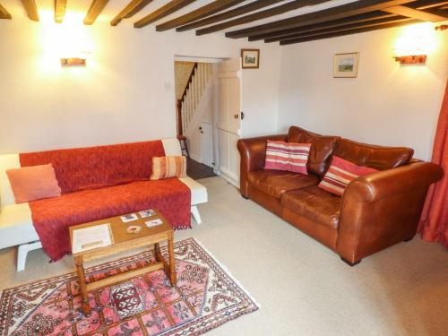 A seating area at 2 Priory Cottages