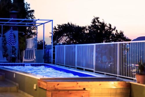 The swimming pool at or close to Apartments Nika Mlini