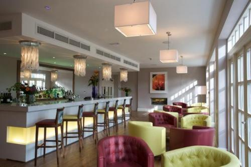 The lounge or bar area at The Bannatyne Spa Hotel