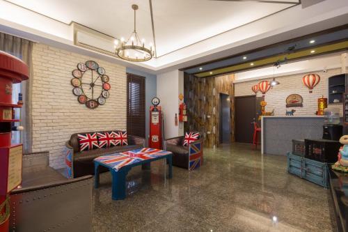 The lobby or reception area at Ali Ba Ba B&B