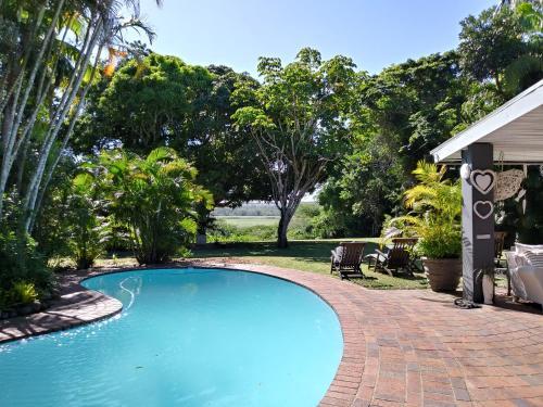 The swimming pool at or near St Lucia Kingfisher Lodge