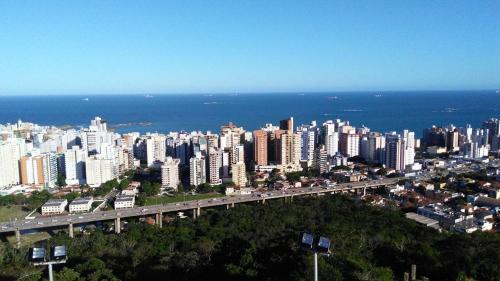 A bird's-eye view of Apartamento Perto de Tudo