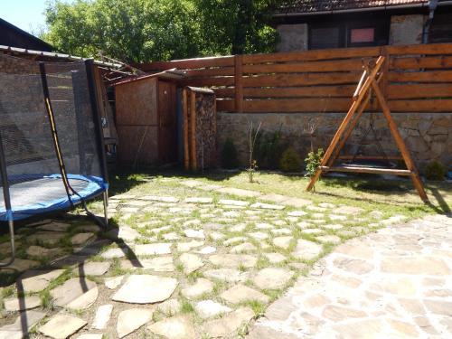 Herní místnost nebo prostor pro děti v ubytování Chalupa u dedu a babky