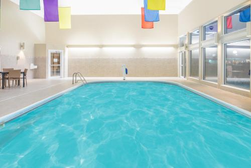 The swimming pool at or near Ramada by Wyndham Springfield North