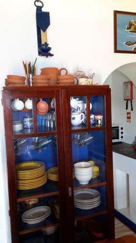 Um banheiro em Casa da Fajãzinha