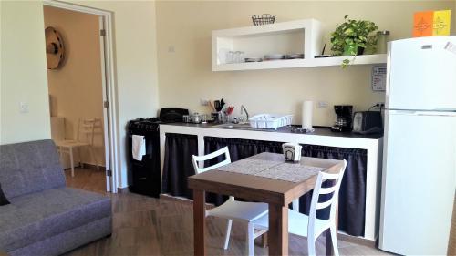 Una cocina o zona de cocina en Casa Mi Playa
