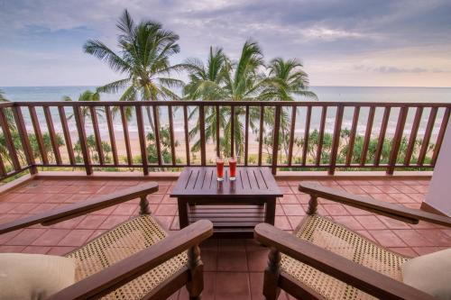 Балкон или терраса в Ananya Beach Resort