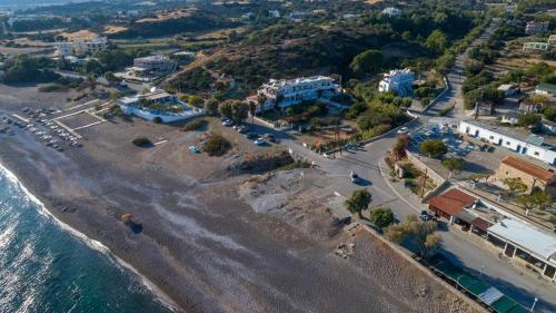 Άποψη από ψηλά του Seaside Studios Kirania