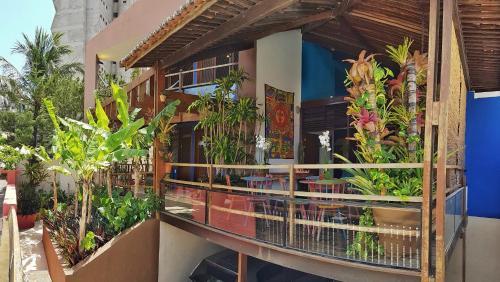 Uma varanda ou terraço em Pousada Natal Paradise