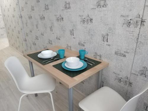 "A bathroom at Апартаменты""Like Home"" на Фрунзе 49"