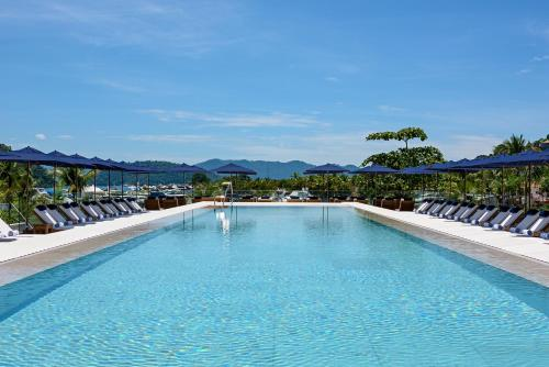 The swimming pool at or near Hotel Fasano Angra dos Reis