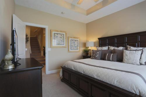 A bed or beds in a room at Villa Vista