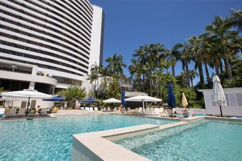 The swimming pool at or close to The Star Grand at The Star Gold Coast