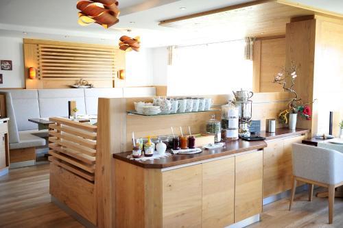 Küche/Küchenzeile in der Unterkunft Biohof Naturzeit Faaker See