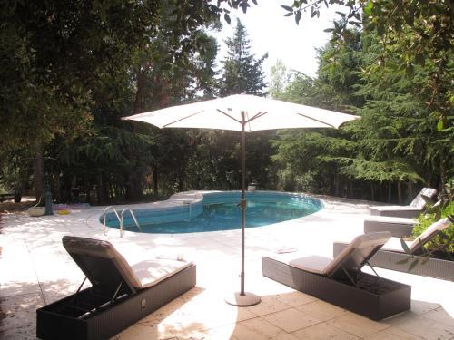The swimming pool at or near Villa Andree