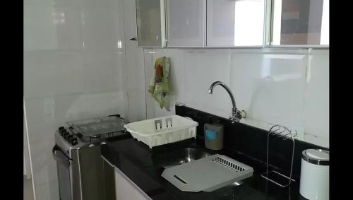 Un baño de Apartamento amplo à Beira Mar