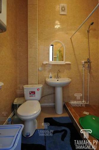 A bathroom at «Домашний уют»
