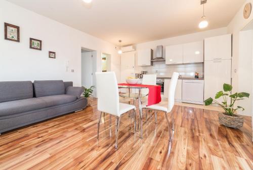 Posezení v ubytování Apartman Dukić