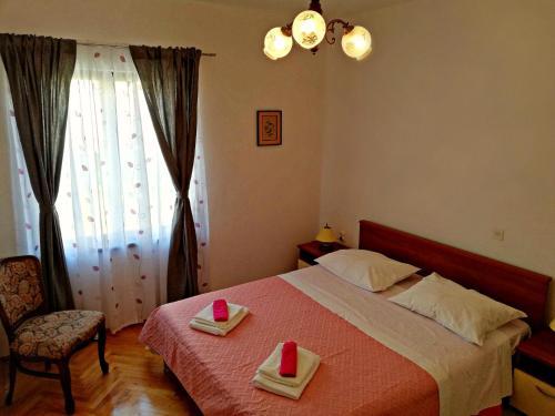 Posteľ alebo postele v izbe v ubytovaní Apartmani Anda